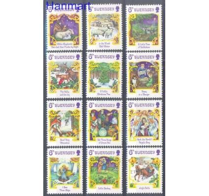 Znaczek Guernsey 1986 Mi 373-384 Czyste **