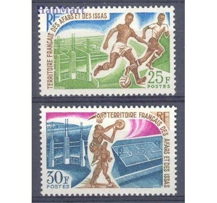 Znaczek Francuskie Terytorium Afarów i Issów 1967 Mi 7-8 Czyste **