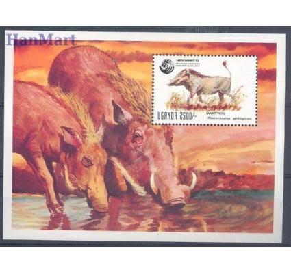 Znaczek Uganda 1992 Mi bl 180 Czyste **