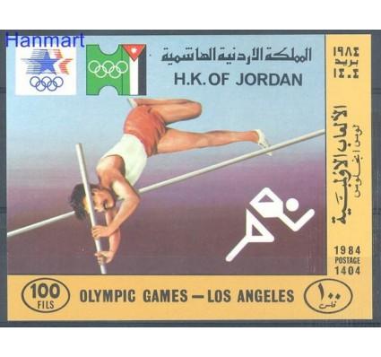 Znaczek Jordania 1984 Mi bl 48 Czyste **