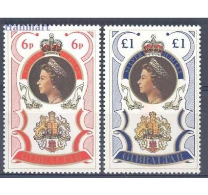 Znaczek Gibraltar 1977 Mi 346-347 Czyste **
