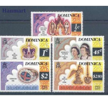 Znaczek Dominika 1977 Mi 525-529 Czyste **