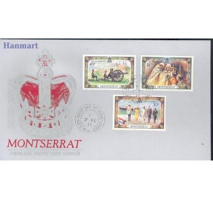 Znaczek Montserrat 1977 Mi 363-365 FDC