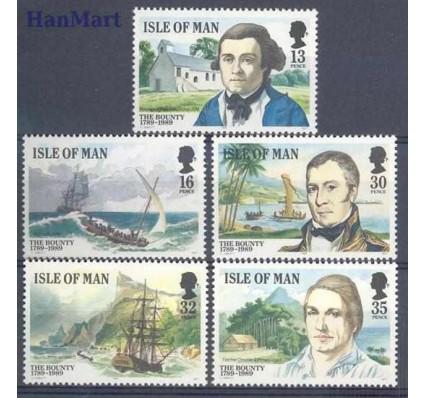 Znaczek Wyspa Man 1989 Mi 397-401 Czyste **