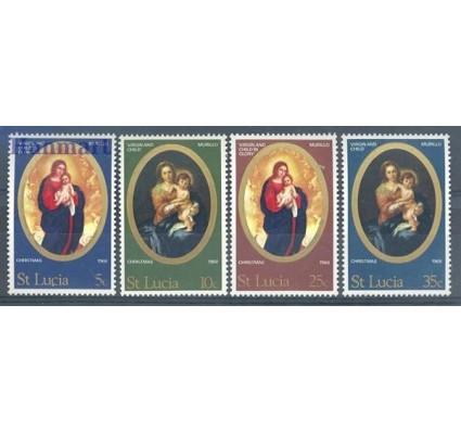 Znaczek Saint Lucia 1968 Mi 229-232 Czyste **