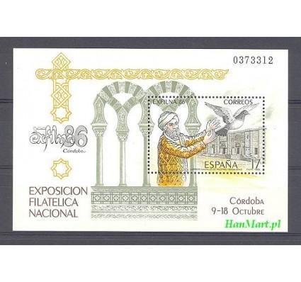 Znaczek Hiszpania 1986 Mi bl 29 Czyste **
