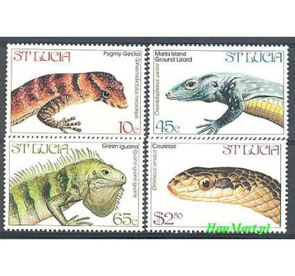 Znaczek Saint Lucia 1984 Mi 660-663 Czyste **