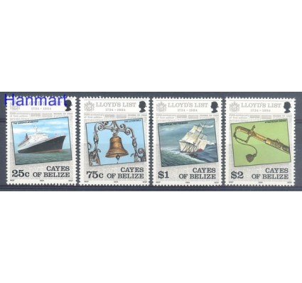Znaczek Belize 1984 Mi 10-13 Czyste **