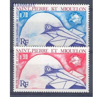 Saint-Pierre i Miquelon 1974 Mi 496-497 Czyste **