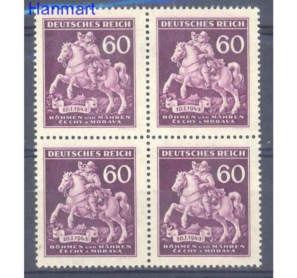 Deutsches Reich / III Rzesza 1943 Mi vie 113 Czyste **