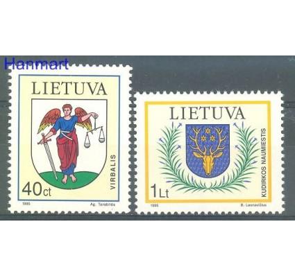 Znaczek Litwa 1995 Mi 591-592 Czyste **
