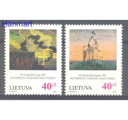 Znaczek Litwa 1996 Mi 617-618 Czyste **