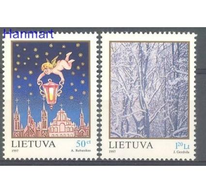 Znaczek Litwa 1997 Mi 655-656 Czyste **