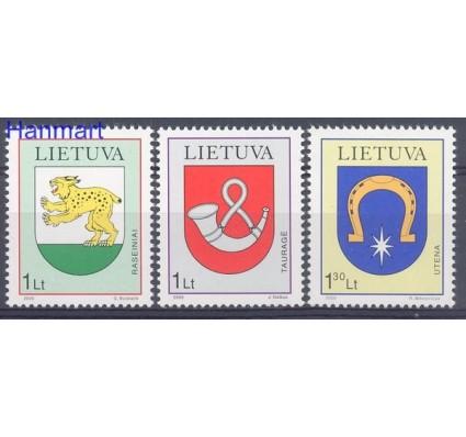 Znaczek Litwa 2000 Mi 739-741 Czyste **