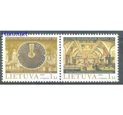 Znaczek Litwa 2005 Mi 873-874 Czyste **