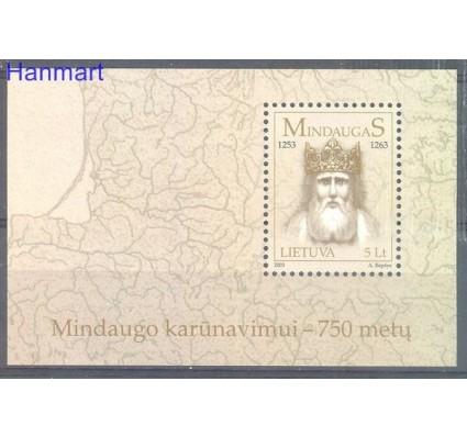 Znaczek Litwa 2003 Mi bl 28 Czyste **