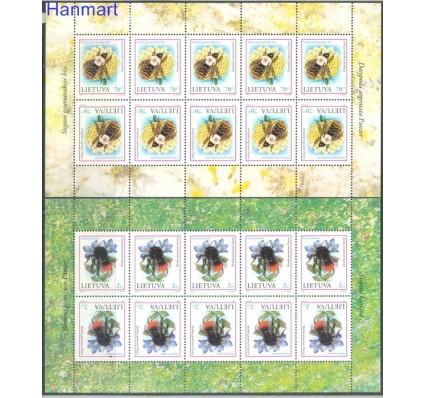 Znaczek Litwa 1999 Mi ark 698-699 Czyste **