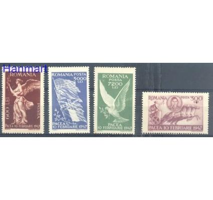 Znaczek Rumunia 1947 Mi 1024-1027 Czyste **
