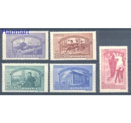 Znaczek Rumunia 1947 Mi 1042-1046 Czyste **