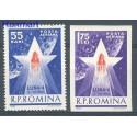 Rumunia 1963 Mi 2143-2144 Czyste **