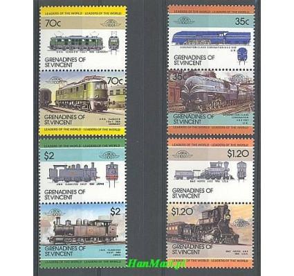 Grenadines of St Vincent 1985 Mi 427-434 Czyste **