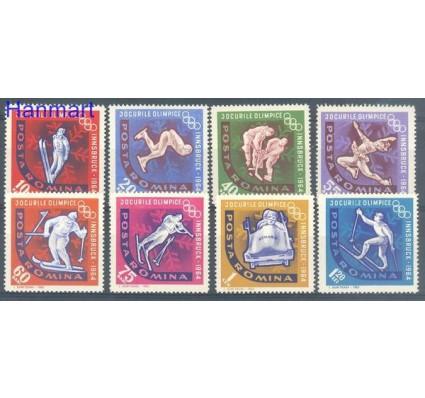 Znaczek Rumunia 1963 Mi 2195-2202 Czyste **