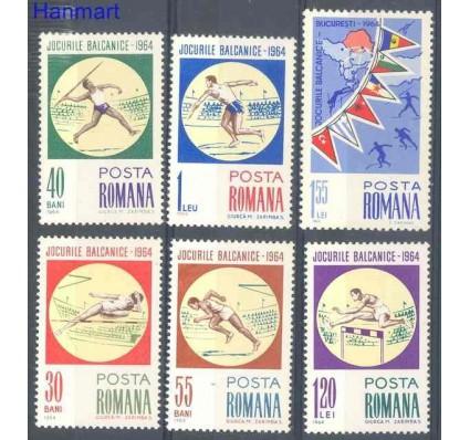 Znaczek Rumunia 1964 Mi 2299-2304 Czyste **