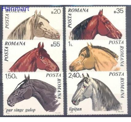 Znaczek Rumunia 1970 Mi 2888-2893 Czyste **