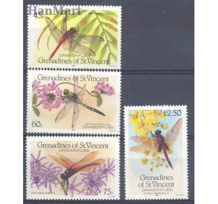 Znaczek Grenadines of St Vincent 1986 Mi 506-509 Czyste **