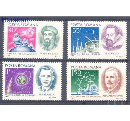 Znaczek Rumunia 1971 Mi 3001-3004 Czyste **