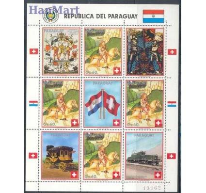 Znaczek Paragwaj 1990 Mi ark 4458 Czyste **