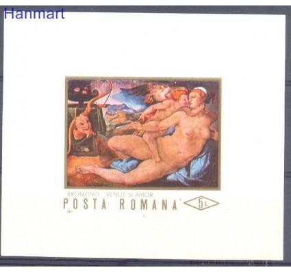 Znaczek Rumunia 1971 Mi bl 87 Czyste **