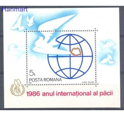 Znaczek Rumunia 1986 Mi bl 228 Czyste **