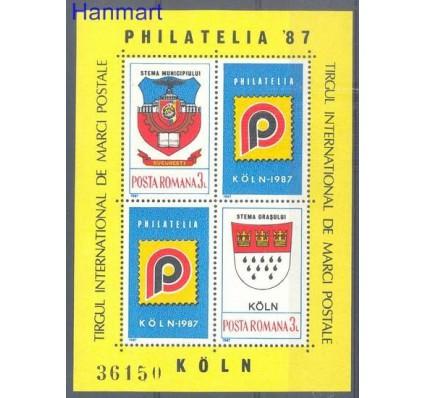 Znaczek Rumunia 1987 Mi bl 237 Czyste **