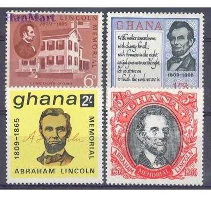 Znaczek Ghana 1965 Mi 216-219 Czyste **