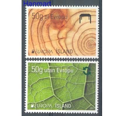 Znaczek Islandia 2011 Mi 1304-1305 Czyste **