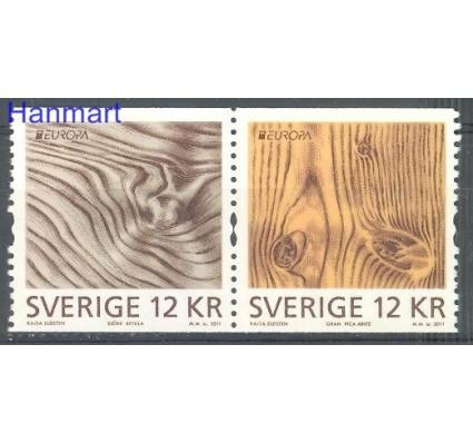 Znaczek Szwecja 2011 Mi 2812-2813 Czyste **