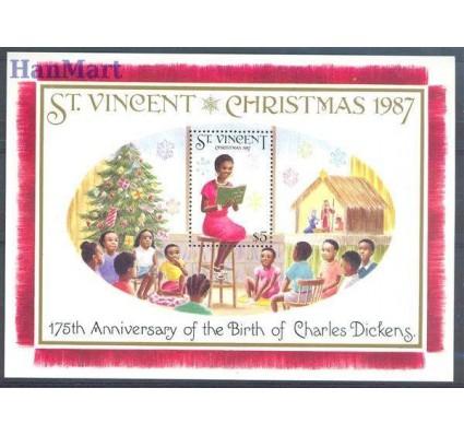 Znaczek St. Vincent 1987 Mi bl 54 Czyste **