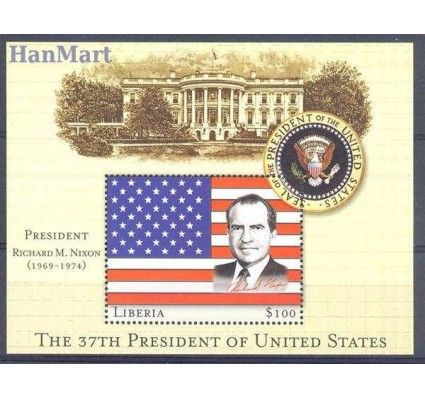 Znaczek Liberia 2000 Mi bl 323 Czyste **