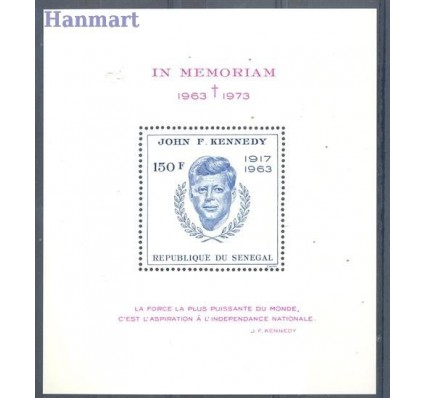 Znaczek Senegal 1973 Mi bl 11 Czyste **