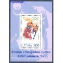 Łotwa 1994 Mi bl 4 Czyste **