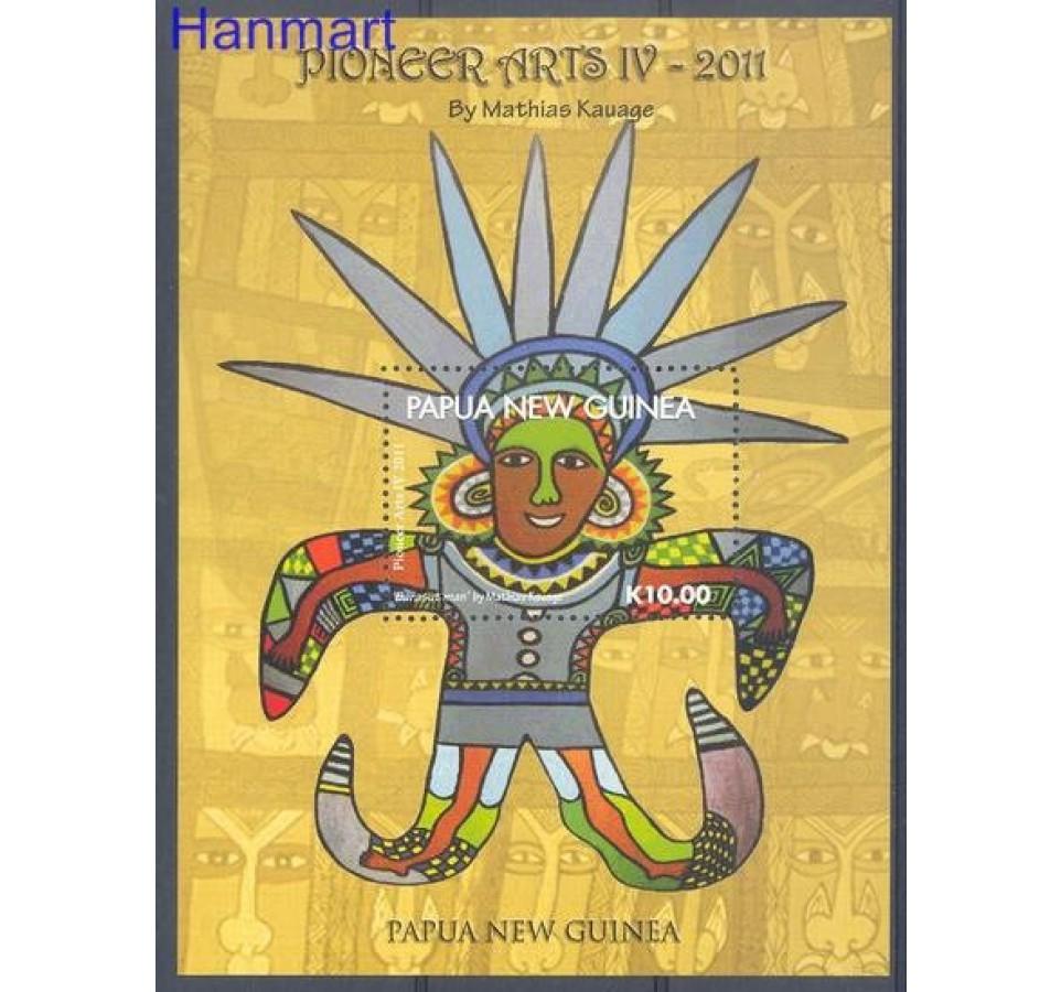 Papua Nowa Gwinea 2011 Mi bl 130 Czyste **
