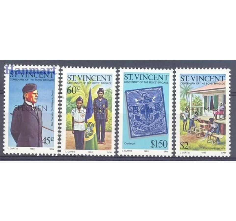 St. Vincent 1983 Mi 660-663 Czyste **