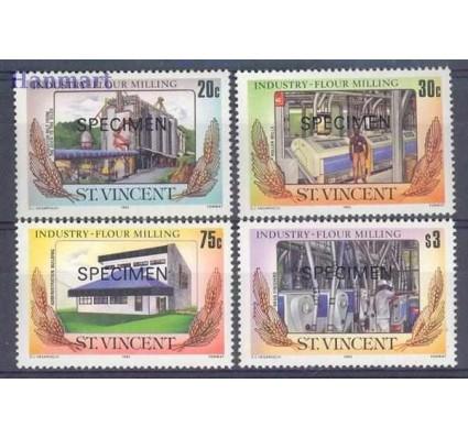 St. Vincent 1985 Mi 878-881 Czyste **