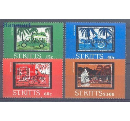 Saint Kitts 1985 Mi spe 156-159 Czyste **
