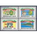 Nevis 1984 Mi 182-185 Czyste **