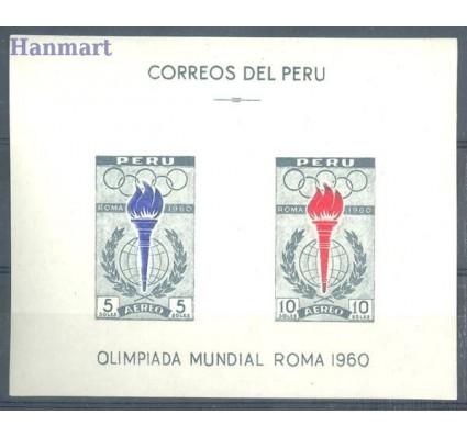 Peru 1961 Mi bl 5 Czyste **