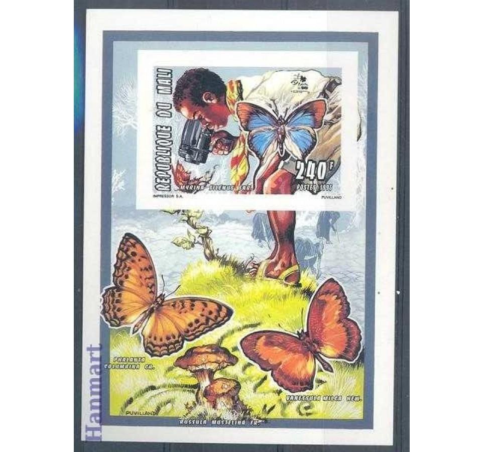Mali 1995 Mi einbl Q68B Czyste **