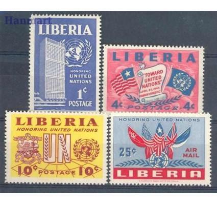 Znaczek Liberia 1952 Mi 440-443 Czyste **