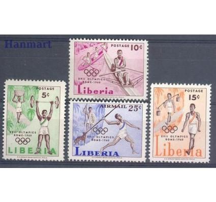 Liberia 1960 Mi 552-555 Czyste **
